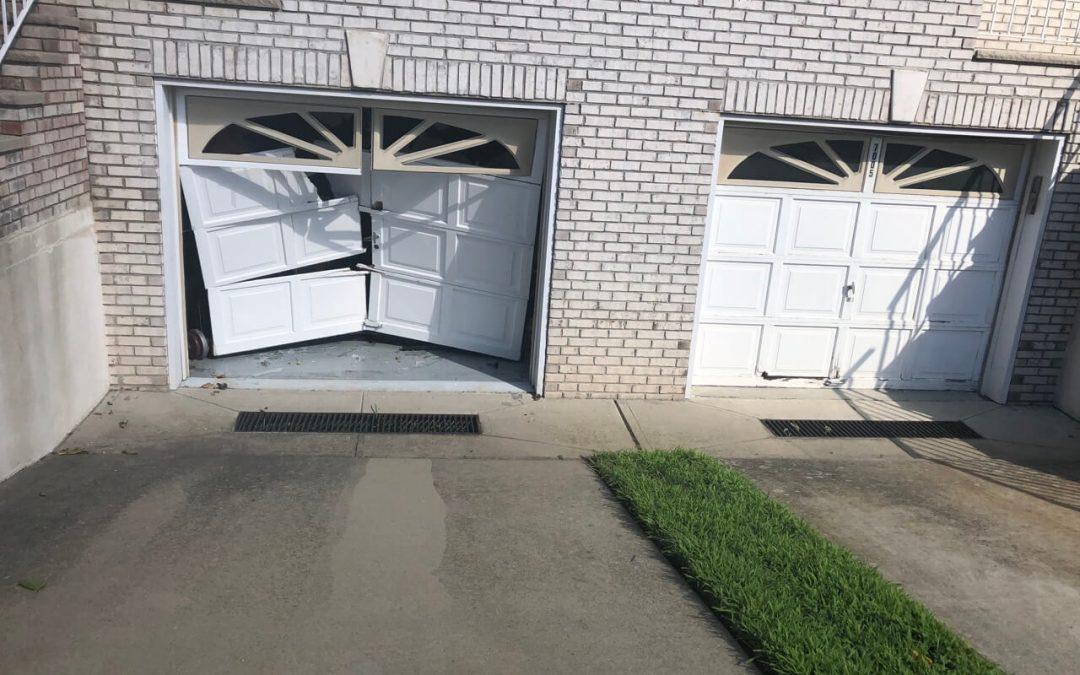 Broken garage Door Brooklyn NY